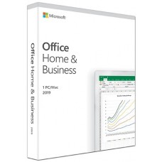 Microsoft Office 2019 Home and Business 1 User, 1 Device Retail